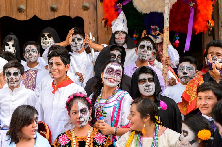 Day of the Dead celebrations in Oaxaca, Mexico