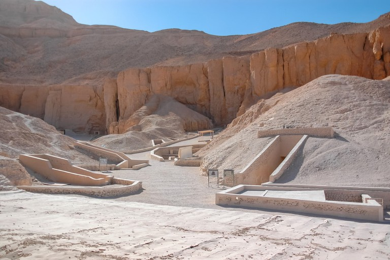 You could be fined if you take photos inside the Valley of the Kings