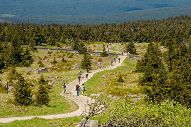 Hiking to the top of the mountain, Brocken, Germany | © Gestur Gislason/Shutterstock
