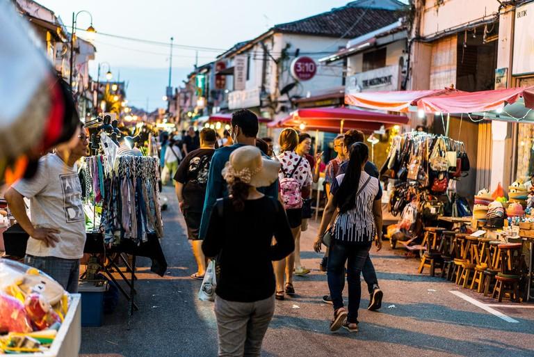 Jonker Street Night Market, Melaka, Malaysia | © fahrulazmi/Shutterstock