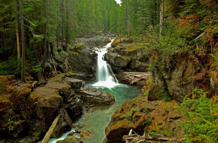 Silver Falls in Mt. Rainier National Park | © Steven Smith / Flickr