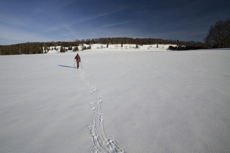 snowshoeing-2215170_1280