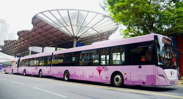 These pink Go KL buses are hard to miss
