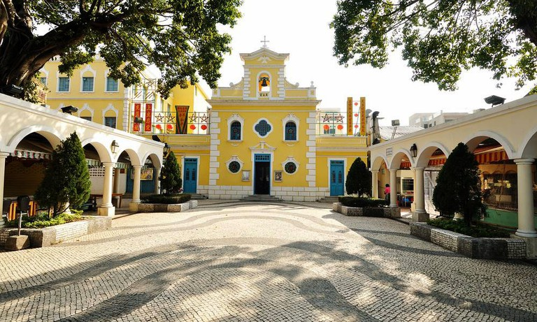 St. Francis Xavier Church in Coloane Village, Macau
