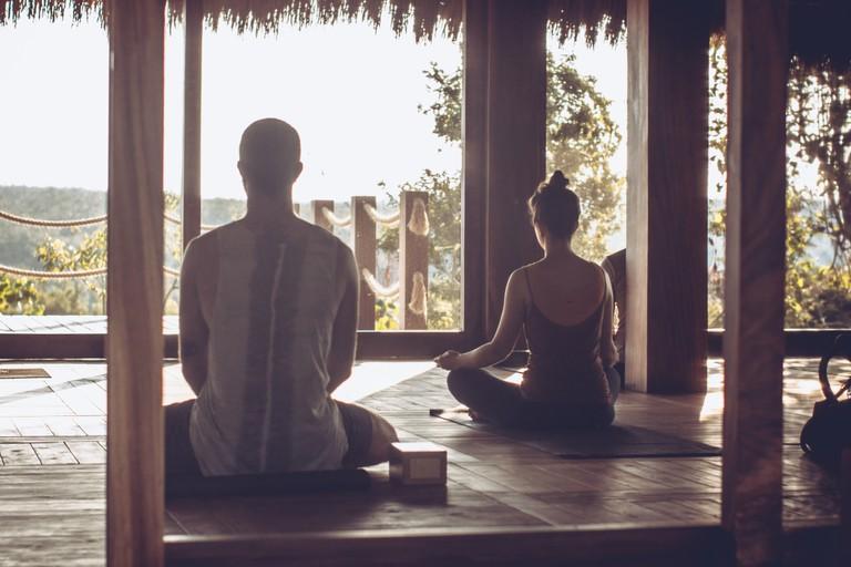 Meditation at Ondalinda