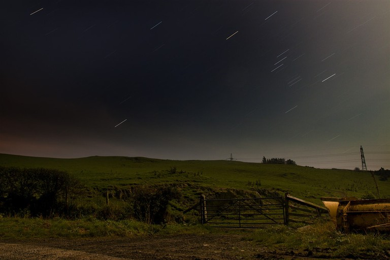Welsh sky at night