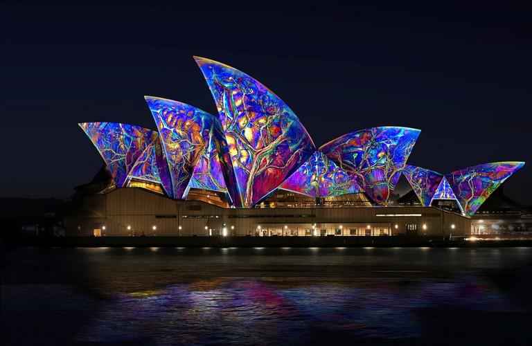 Sydney Opera House at Vivid Sydney