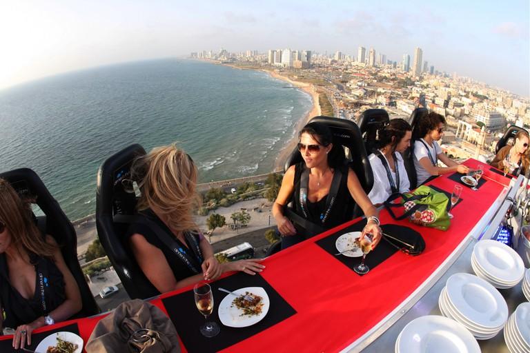 Dinner in the Sky, Tel Aviv
