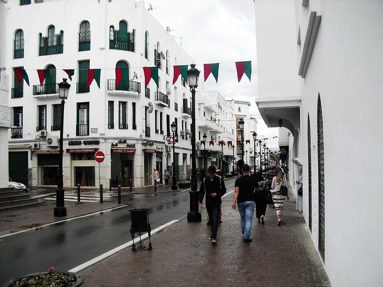 Tetouan_city,_Morocco_in_rain