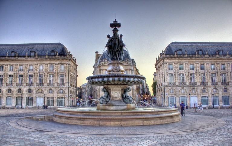 The fabulous Place de la Bourse|©Bob Familiar:Flickr
