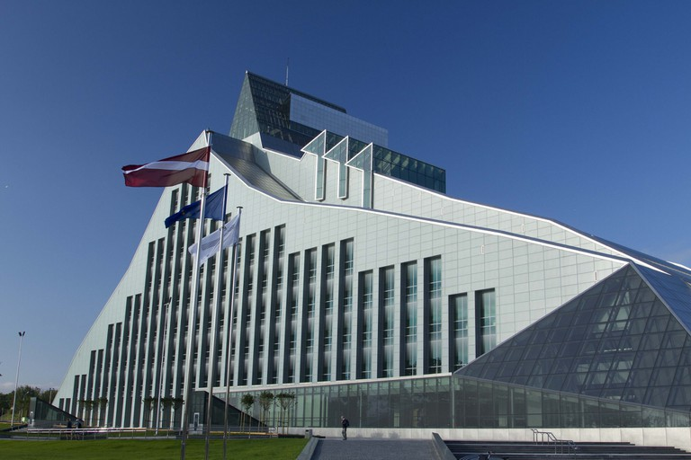 The National Library Of Latvia