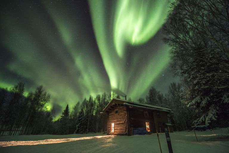 The northern lights at play in Alaska | © National Park Service, Alaska / Flickr