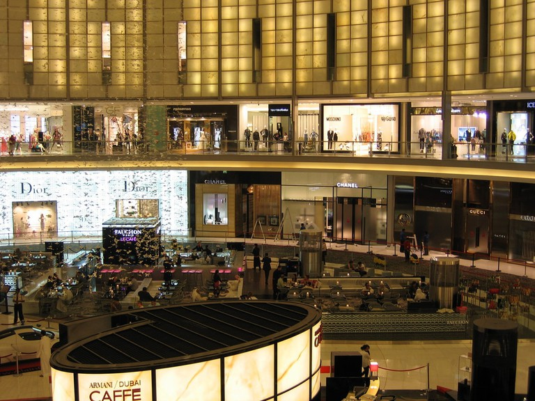 Dubai Mall's fashion avenue