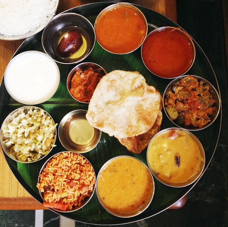 Traditional Thali