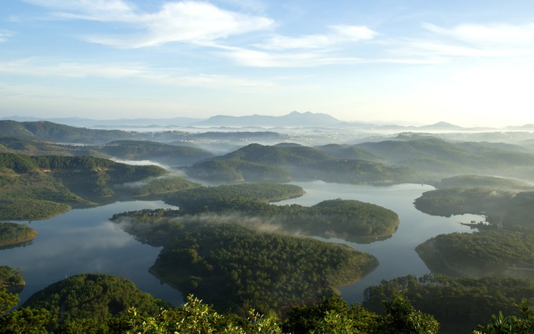 Aerial View of Da Lat