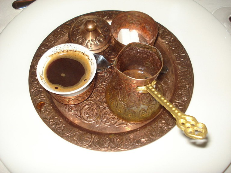 You can buy your own copper coffee set in Bosnia | © Silverije/WikiCommons