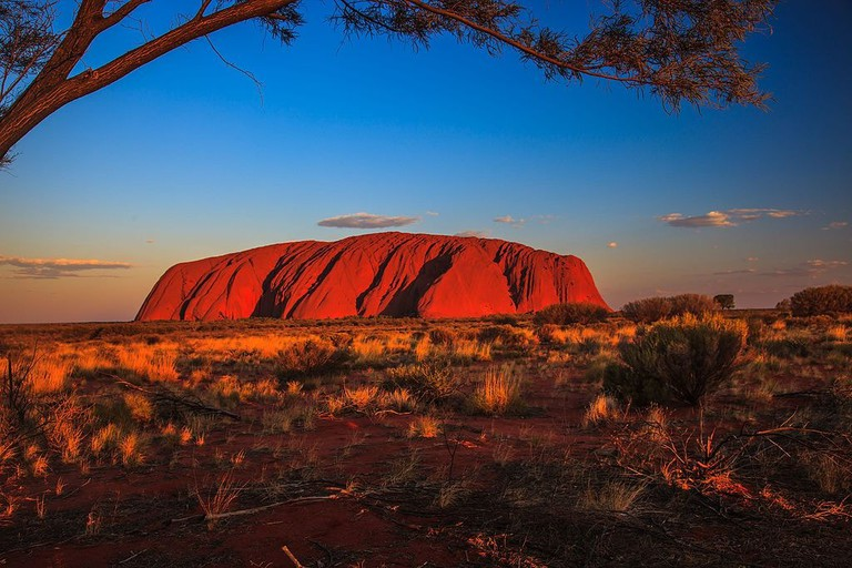 Uluru sunset | © Murray Foubister/Wikimedia Commons