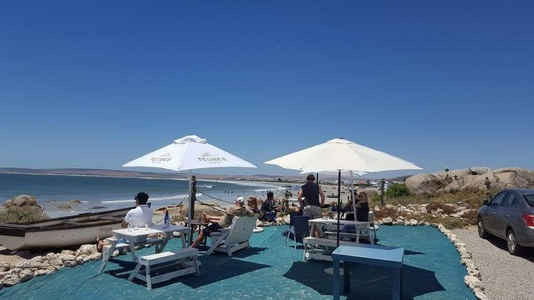 Gaatjie may have the best location in Paternoster