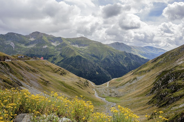 View over Transfagarasan