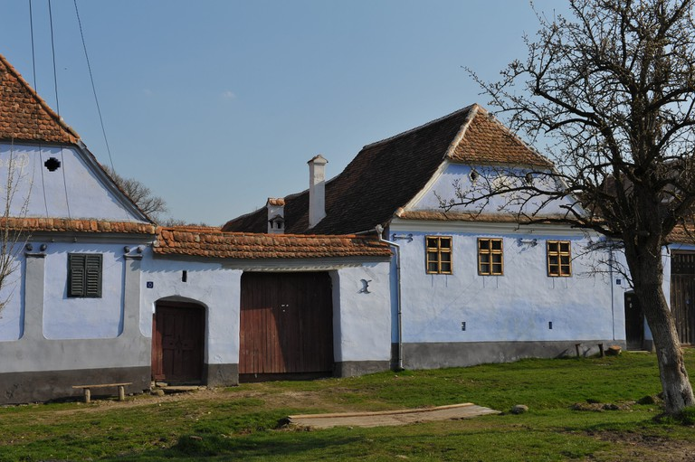 Viscri houses