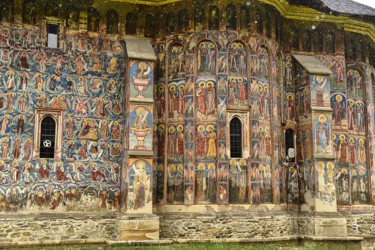 Voronet frescoes