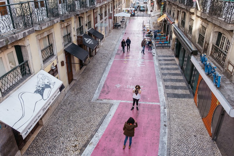 WATSON - LISBON, PORTUGAL - RUA NOVA DE CARVALHO - VIEW FROM BRIDGE