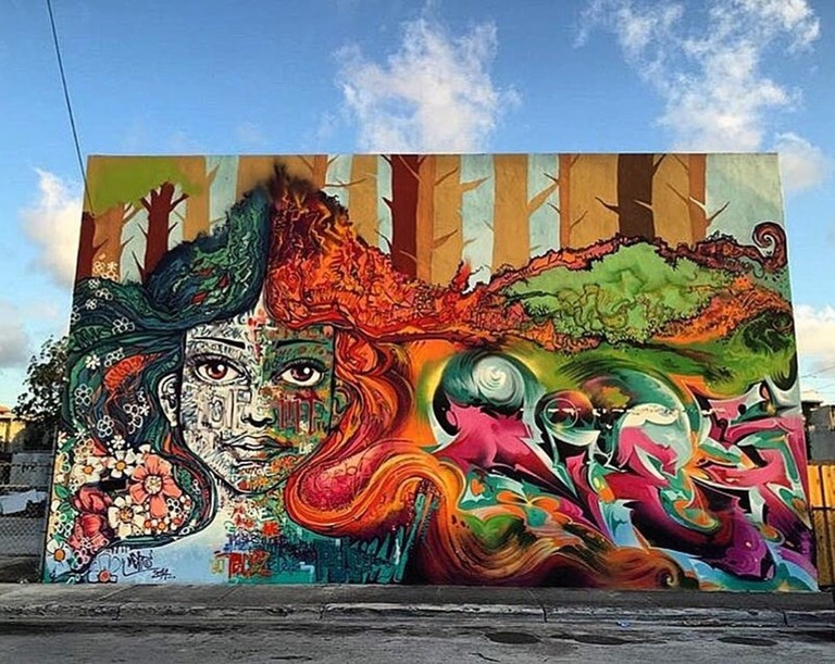 Ment's art in Wynwood, Miami | ©Marcelo Ment