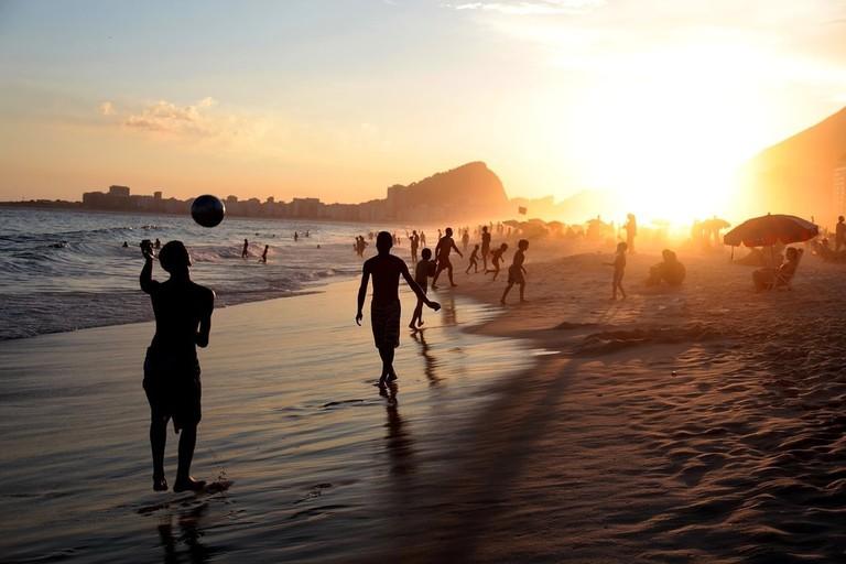 Exercising in Brazil | © Pixabay