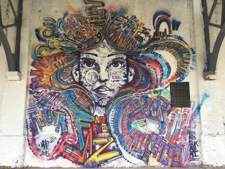 Marcelo Ment's graffiti in Rio de Janeiro | © Marcelo Ment