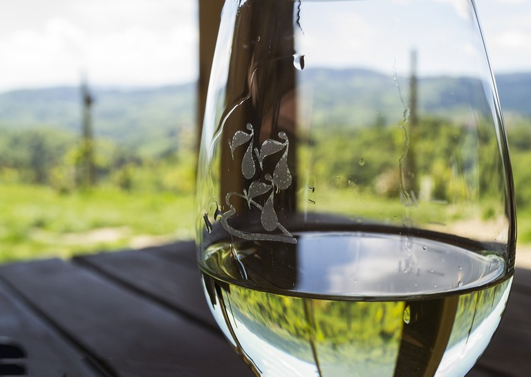 Glass of Ribiero white wine   Max Pixel