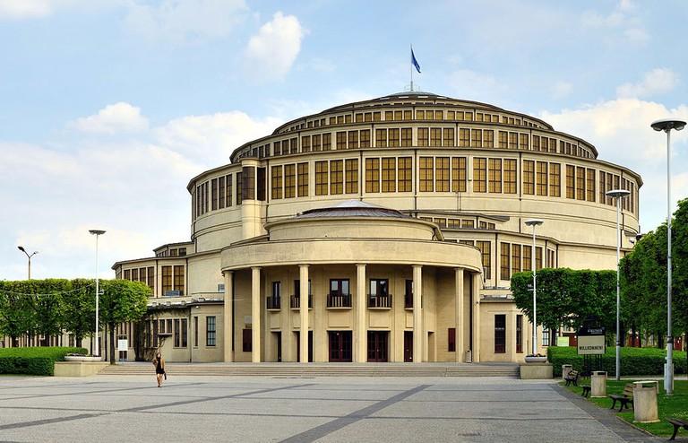 Wrocław_-_Jahrhunderthalle5