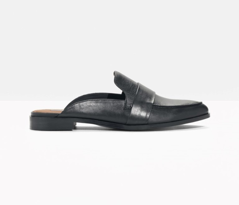 &Other Stories slipper leather loafers