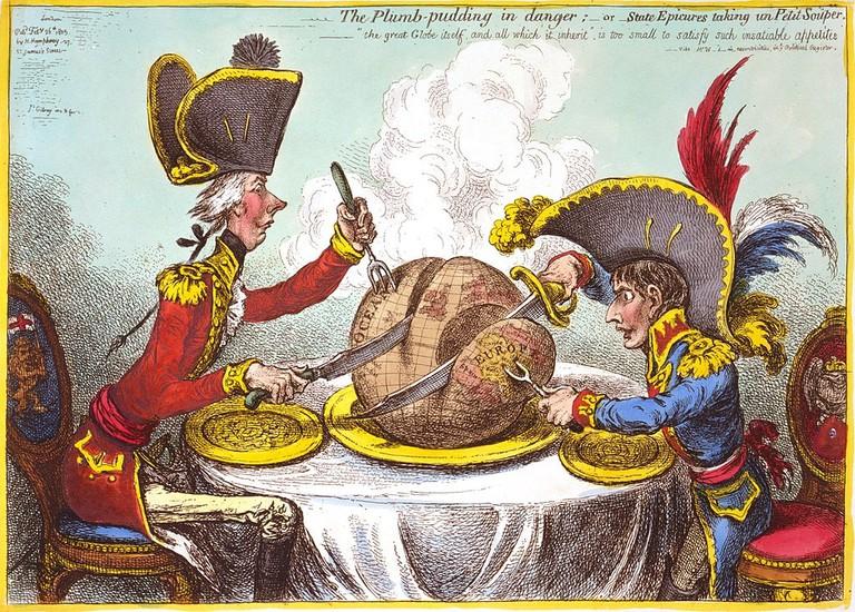 A nineteenth-century caricature   © James Gillray / WikiCommons