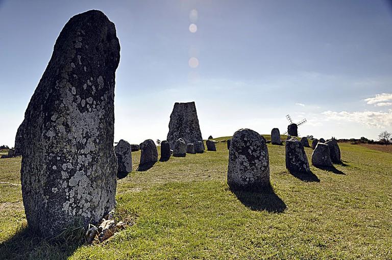 Viking burial ground