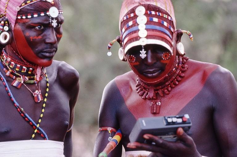 Masaai warriors