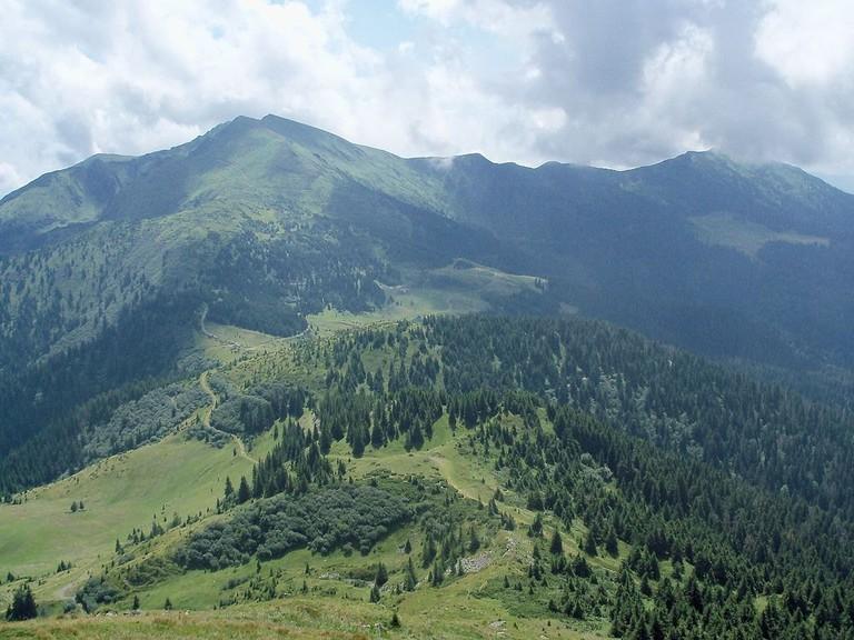 Marmarosh massif