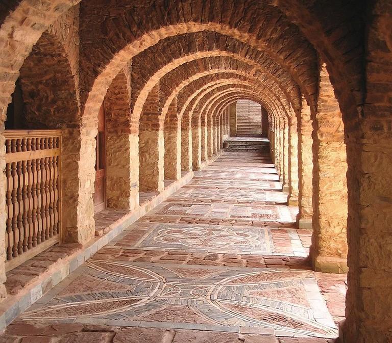Enchanting alleyway through La Medina d'Agadir