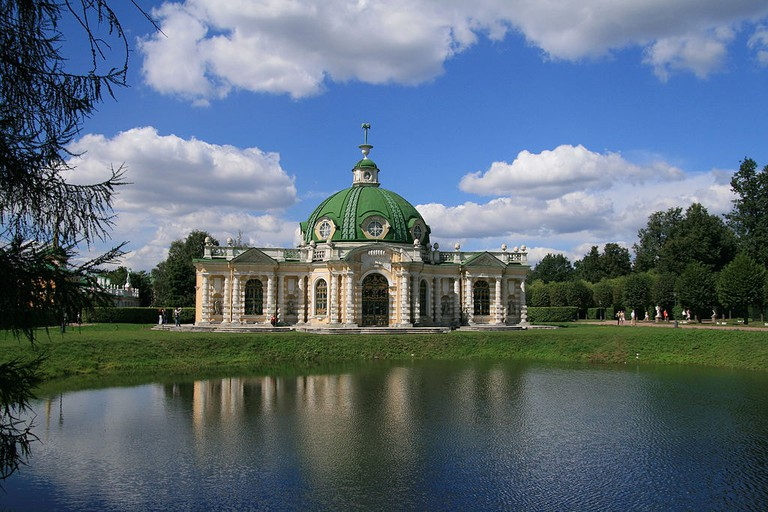 Pavilion 'The Grotto' in Kuskovo Estate, 1755-1775, Moscow