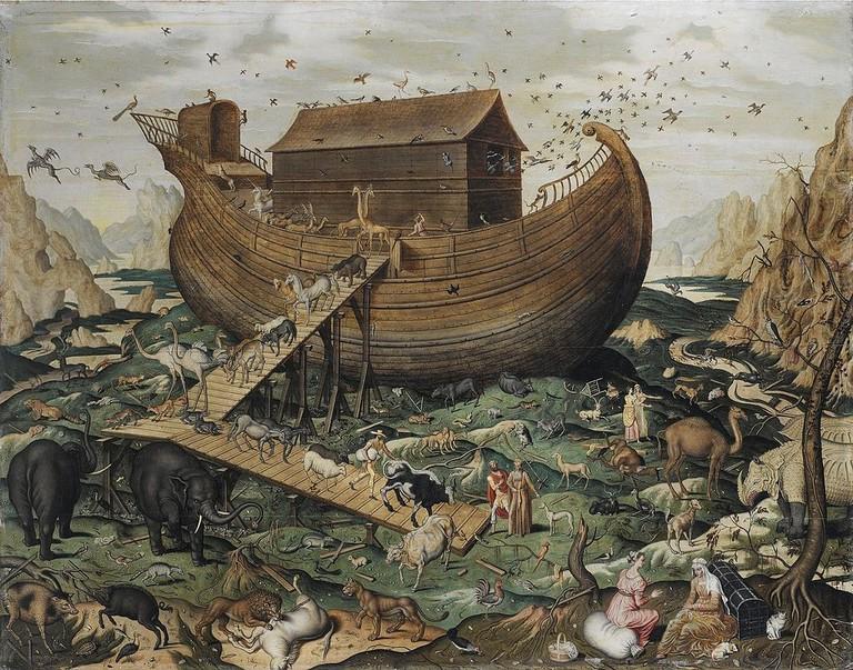 1024px-Noah's_Ark_on_Mount_Ararat_by_Simon_de_Myle