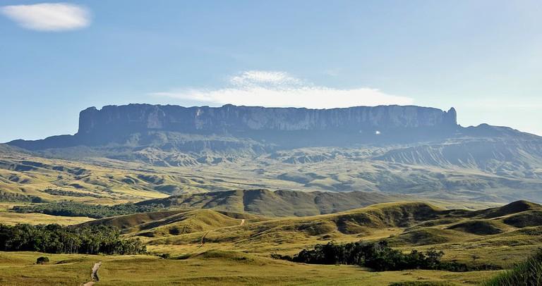 The mighty Mount Roraima