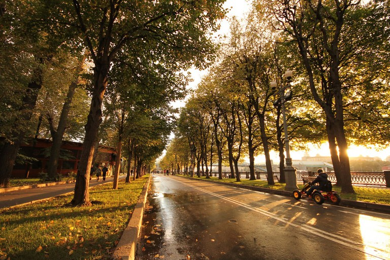 Gorky Central Park, Moscow – Russia