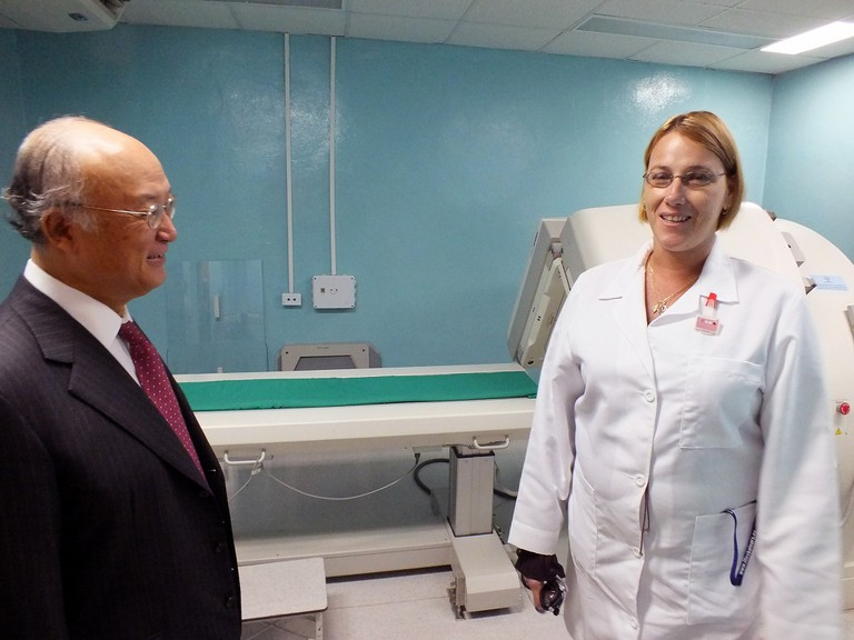 The Center for Radiotherapy at the Hospital of Mexico in Cuba