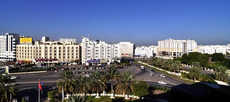 Al Khuwair District Muscat © Dan