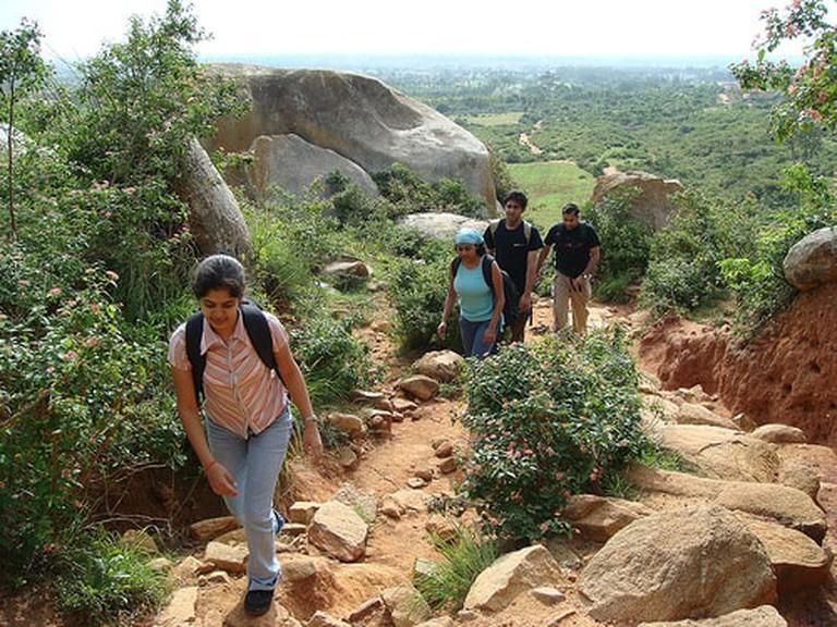 Kalavarahalli has rocky climb