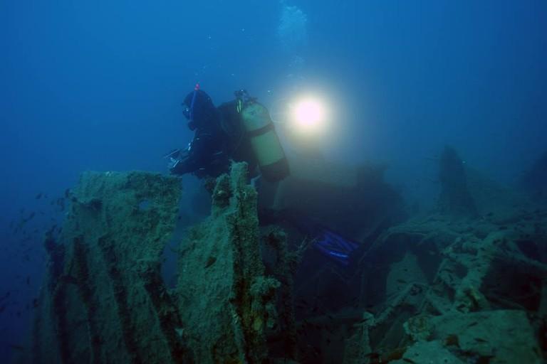 Courtesy of Hydrovius Diving Center