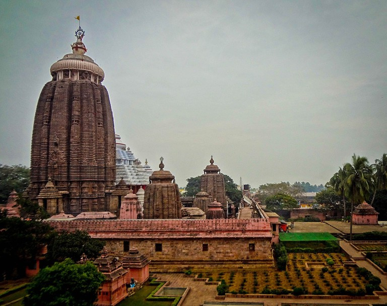 The famous Sri Jagannath Temple in Puri, Odisha