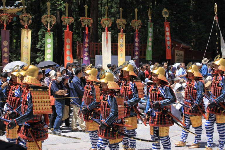 The 1,000 Samurai Procession