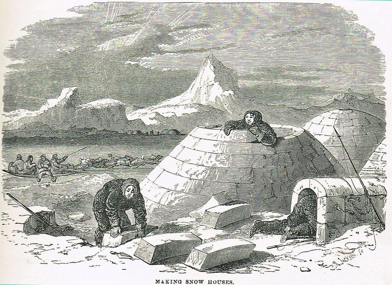 Making Snow Houses | © Wainuiomartian/Flickr