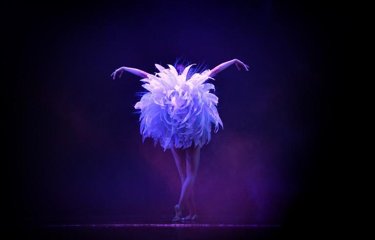 Le Lido cabaret dancer