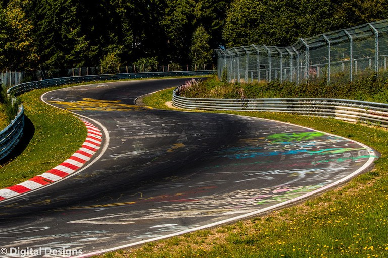 A curve on the Nurburgring, Germany I